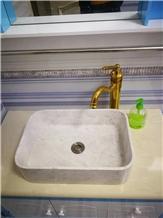 Marble Wash Basins Hotel Bathroom Stone Sinks