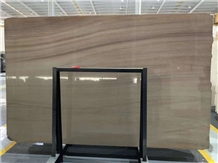 Woodland Brown Sandstone Slab Wall Tile Floor