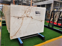 Xixili Bai Sicilian White Marble Floor Paving Tile