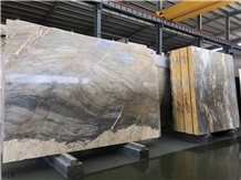 Yunnan Gold Marble Barcelona Stately Golden Slab