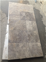 Silver Travertine French Pattern and Paver