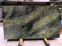 Peacock Verde Green Marble Slabs Cut to Size Tile