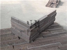 China Purple Sandstone Tile/Slab for Wall Covering