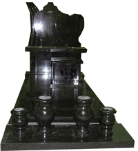 Shanxi Black/Polished Granite Tombstones/Momuments