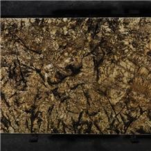Brown Autumn Leaf 2cm 3cm Thick Granite Slab