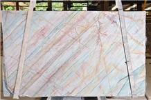 Northern Light Quartzite Pink Veins Stone Slabs