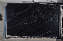 Polished Nevada Black Granite Slabs Size