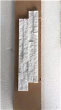 White Quartzite S Type Culture Stone Spilt Face