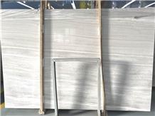 China White Serpeggiante Polished Marble Slabs