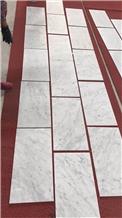 Natural Bianco Carrara White Marble Walling Tiles