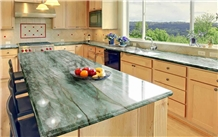 Natural Brasil Gaya Green Quartzite Countertops
