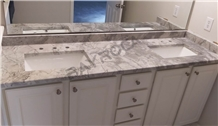 Natural Brasil Super White Quartzite Kitchen Tops