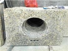 New Venetian Gold Granite Bath Vanity Countertop
