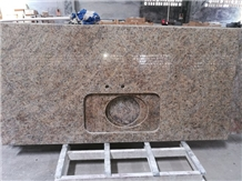 New Venetian Gold Brasil Granite Kitchen Top
