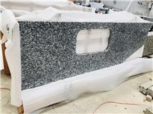 Spray White G418 Wave White Granite Countertop