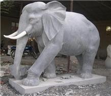 Elephant Grey Granite Natural Stone Sculpture