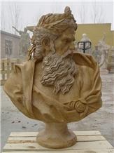 Head Statues Garden Sculptures Western Style Ideas