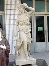Human Sculptures Modern Style Garden Statues
