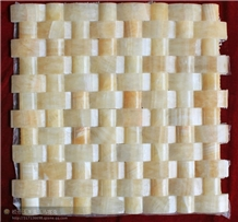Luxury Onyx Mosaic Natural Stone Floor and Wall