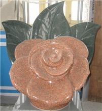 Multicolor Granite Natural Stones Sculptures Ideas
