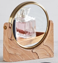 Office Decorative Mirror Stand Home Design Marble
