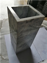 Office Decorative Vase Home Design Natural Marble