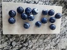 Polished Ice Wine Ball Design Natural Granite