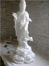 White Marble Natural Stones Sculptures Ideas