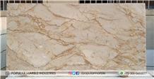 Fancy Beige Marble Slabs, Tiles from Pakistan