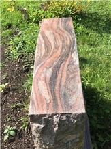 Indian Juparana Rough Granite Blocks