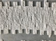 Crystal White Glued Ledge Wall Panel