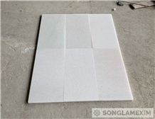Crystal White Marble Polished Tile-Second Quality