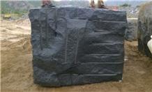 Absolute Black Granite Blocks, India Black Granite