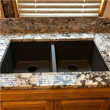 Bianco Antico Granite Project Kitchen Countertops