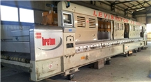 Polishing Line Breton Kg 3000 13 Polishing Heads.2005 Year/Very Good Condition