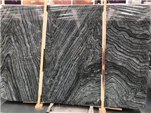Black Forest/Silver Wave Marble Slabs
