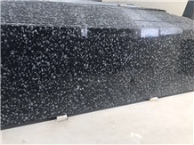 Coin Black Granite Slabs
