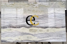 Brazil Amazon Green Wave Quartzite Slabs Tiles