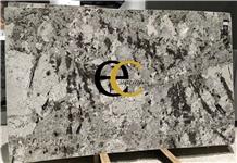 Brazil Blue Alaska White Granite Slabs & Tiles