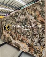 Brazil Brown Canyon Granite Slabs & Tiles