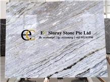 Brazil Dolce Vita White Marble Slabs & Tiles