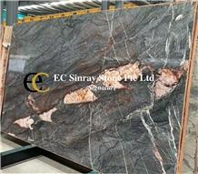 Brazil London Wave Grey Quartzite Slabs & Tiles