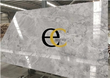 Brazil Super White Grey Quartzite Slabs & Tiles