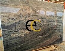 Brazil Verde Chain Green Quartzite Slabs & Tiles