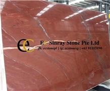 Brazil Xango Red Quartzite Slabs & Tiles