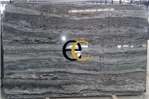 Da Vinci Brown Grey Wooden Marble Slabs & Tiles