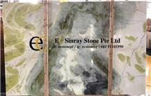 Dream Green Marble Slabs & Tiles