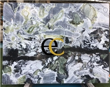 Ice Green Cold Jade Marble Slabs & Tiles
