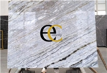 Italy Crevola Palissandro Blue Marble Slabs Tiles