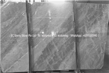 Italy Frozen Ice Grey White Marble Slabs & Tiles